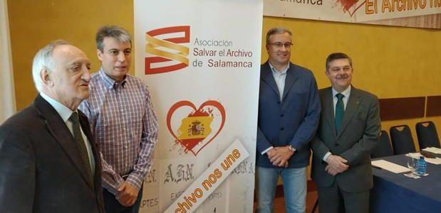 Si Sánchez gobierna, el futuro del Archivo de Salamanca lo dictarán Torra y Puigdemont