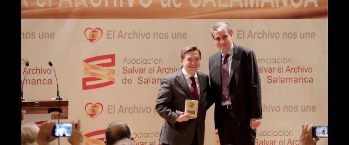 La III Edición de los Premios Salvar el Archivo de Salamanca