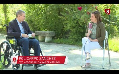 Primera entrevista a Policarpo Sánchez tras superar el COVID 19 y estar a punto de morir.